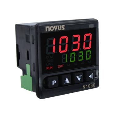 Imagem do produto N1030T PR – Controlador de Temperatura 12 a 24VCC - Alexmar - Automação Industrial